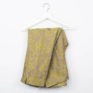 Lafayette 148 New York Brocade Dress Pants Gold 12